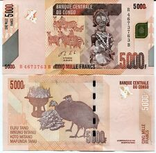 CONGO 5000 5,000 FRANCS 2013 P 102 UNC