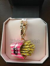BRAND NEW! JUICY COUTURE FRENCH FRIES BRACELET CHARM IN TAGGED BOX