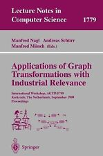 Lecture Notes in Computer Science Ser.: Applications of Graph Transformations...