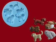 Dogs Sugarcraft Cake Decorating silicone mould Set Food Grade