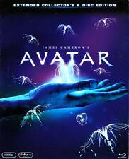 AVATAR The Extended 6-Disc BLU-RAY & DVD Collectors Box Set (NEW) Region 2/A B C
