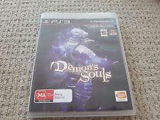 Demon's Soul Complete VGC AU Release Playstation 3 PS3
