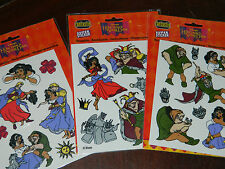 LOT Aufkleber Sticker-Set AUTOCOLLANT the hunchback of notre dame WALT DISNEY wd