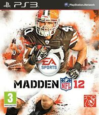 MADDEN NFL 12                -----   pour PS3   -----