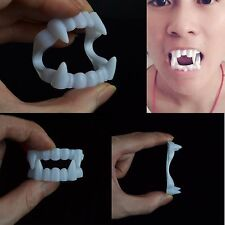 Vampire Teeth Scary Fangs Custom Fit Halloween Fancy Dress Accessory