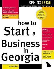 How to Start a Business in Georgia (Legal Survival Guides)