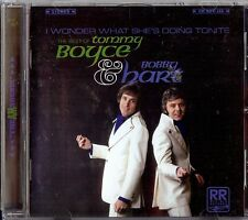 TOMMY BOYCE & BOBBY HART - I WONDER WHAT SHE'S DOING TONITE   CD 2005 REV-OLA