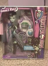 NIB Monster High Ghouls Rule, Frankie Stein Doll NEW. Great holiday Gift