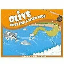 Olive Goes for a Wild Ride (Olive Flyfishing)  (Signed)