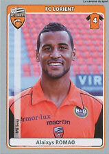N°218 ALAIXYS ROMAO # TOGO FC.LORIENT VIGNETTE STICKER  PANINI FOOT 2012