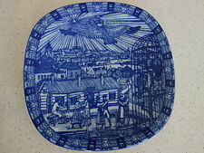 VINTAGE RORSTRAND SWEDEN CHRISTMAS 1982 SERIES WARE DISPLAY  PLATE