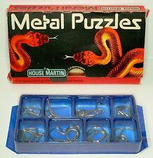 Vintage métal puzzles-maison martin