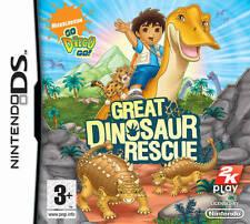 Go Diego Go! Great Dinosaur Rescue Nintendo DS Lite DSi XL Brand New