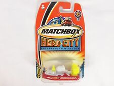 Matchbox Die-Cast Vehicle Hero City Collection Fire Hovercraft # 64