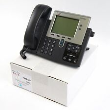 Cisco CP-7942G 7942 SCCP VoIP IP Telephone Phone PoE - Quality Refurbished