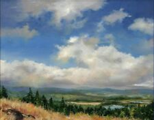 Art Print Sky Landscape Oil painting Picture Printed on canvas 12X16 Inch P202