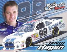 2014 David Ragan Carroll Shelby Engine Co Ford Mustang NASCAR NW postcard