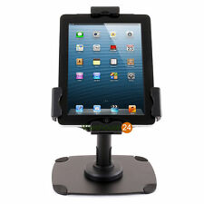 Secure Lockable iPad/Kindle/Samsung Universal Tablet Counter Top Stand/Mount