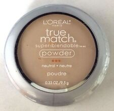 NEW - L'OREAL True match - Powder Makeup - W2 Light Ivory