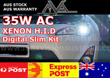 35W AC H11 HID XENON KIT SLIMLINE FULL CONVERSION 6000k 8000k Plug & Play