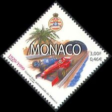 Monaco 1999 Grand Prix/F1/Bugatti/Ferrari/Cars/Sport/Racing/Palm Tree 1v n38305