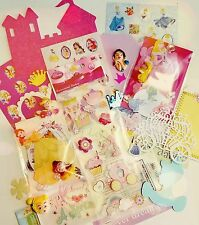 Princess scrapbooking die cut/sticker/resin lot DIY assorted princesses