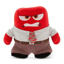 Red ANGER PLUSH Inside Out Emotion Small Stuffed Animal Toy Doll Disney Store