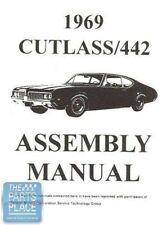 1969 Oldsmobile Cutlass Assembly Manual