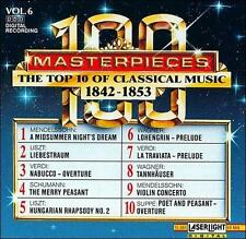 The Top 10 of Classical Music, 1842-1853 Vol.6 New Free Shipping
