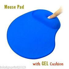 [Mouse Pad with Gel Wrist Rest] Cushion Mat For Desktop or Laptop, New In Box