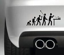 EVOVLE BEER PONG  FUNNY CAR BUMPER STICKER FUNNY DRIFT JDM MAN TOLIET SIGN