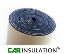 10mx1m Roll 3mm Closed Cell Foam Vehicle Sound Proofing Van Thermal Insulation
