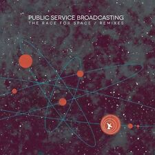 PUBLIC SERVICE BROADCASTING - THE RACE FOR SPACE/REMIXES   CD NEU