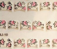 Frenchsticker  3D  BJ10  Nailart  Nageltattoo  Nagelsticker  Blume  Ornament