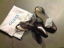 Scarpe  Guess con tacco alto color bronzo come nuove n. 39