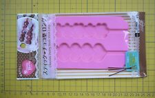 Daiso Japan Sweet Party Chocolate Pastry Sticks Mold Long  # Heart Flower
