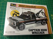 GMC/CHEVY CAPTAIN HOOK WRECKER TRUCK c1980 F/S Plastic model kit made in USA!