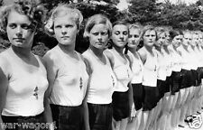WW II German  Photo   --  ... Girls Youth Party ...   --