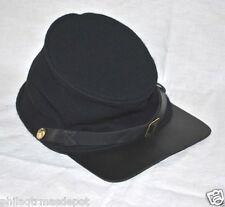 Forage Cap - Union - XX-Large - 100% Wool w/Leather Brim - Civil War - L@@K