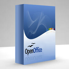 Open Office suite de software 2013 Cd Casa, profesionales y estudiantes Business 2010