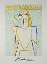 """""""Marina Heart"""" by Picasso Limited Edition of 1000 Lithograph 29 1/2""""x21"""""""