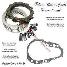 Suzuki Z400 Clutch Kit Set Disks Discs Plates Springs Gasket LT LTZ400 09-14