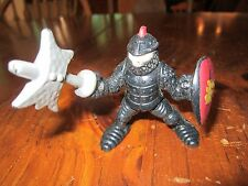 Imaginext Fisher Price Great Adventures Castle Guard Black Knight Battle Axe Toy