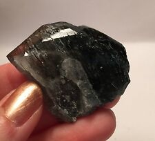 Purple Apatite Fluorapatite Crystal With Actinolite Inclusions ~ Warsak Pakistan