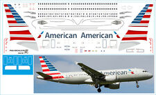 1/144 PAS-DECALS. ZVEZDA. AIRBUS A320  AMERICAN AIRLINES