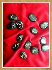 13 Witches Runes, engraved in gold