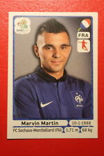 Panini EURO 2012 N. 473 FRANCE MARTIN NEW With BLACK BACK TOPMINT!!