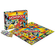 DC COMICS CLASSIC MONOPOLY COLLECTORS EDITION BRAND NEW 6 X COLLECTIBLE TOKENS