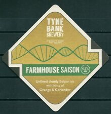 TYNE BANK BREWERY U.K. BEERMAT / COASTER NEW-UNUSED