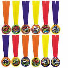 Blaze And The Monster Machines Party Award Medals 12 PCS